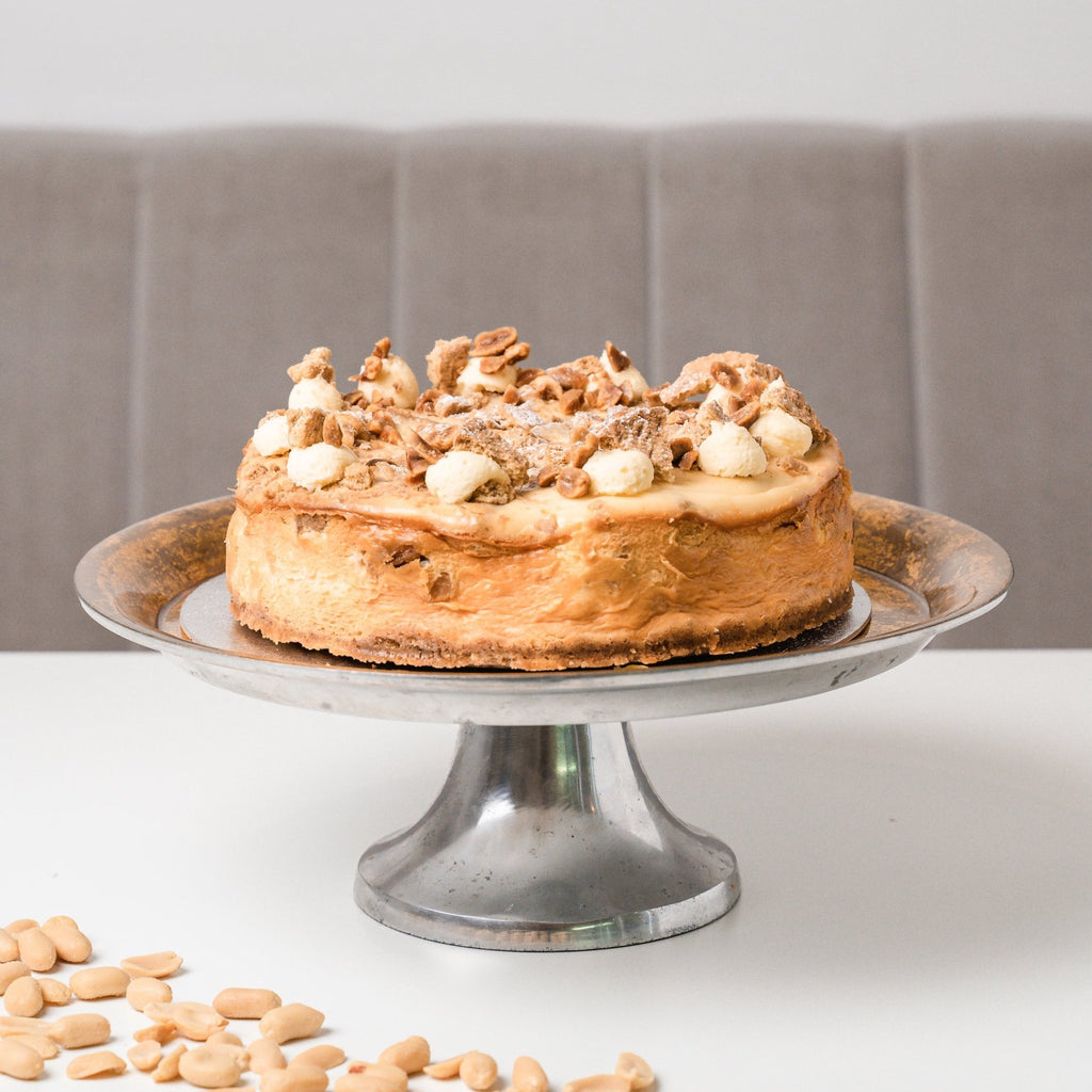 Personalised Peanut Butter Cheesecake