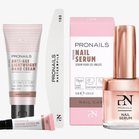 SOS NAILS@HOME kit PRO(incl. hand cream 50ml).