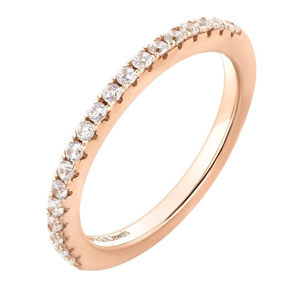 Ring Alliance white pink.