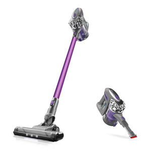 Puweike Cordless Stick Vacuum Cleaner - Hardwood Floors, Carpets and Pet Hair, Wireless Vacuum Cleaner 12Kpa Powerful Suction with Rechargeable Battery, 2 in 1 Design, P80