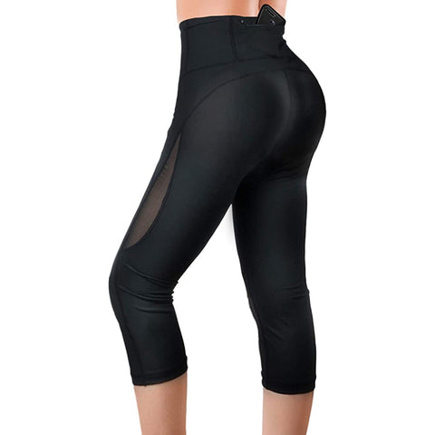 LANCS  High Waist Compression  Yoga Capri Pants