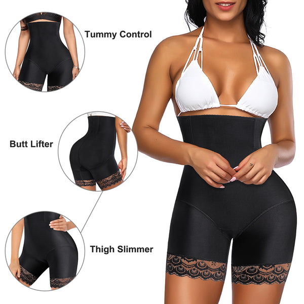 LANCS High Waist Tummy Control Lacs Butt Lifter Panties