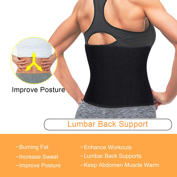 Sauna Waist Trainer Belt for Weight Loss