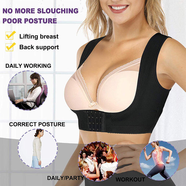 LANCS Chest Up Back Support Posture Corrector Shapewear