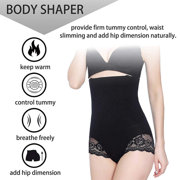 LANCS High Waist Seamless Girdle Butt Lifter