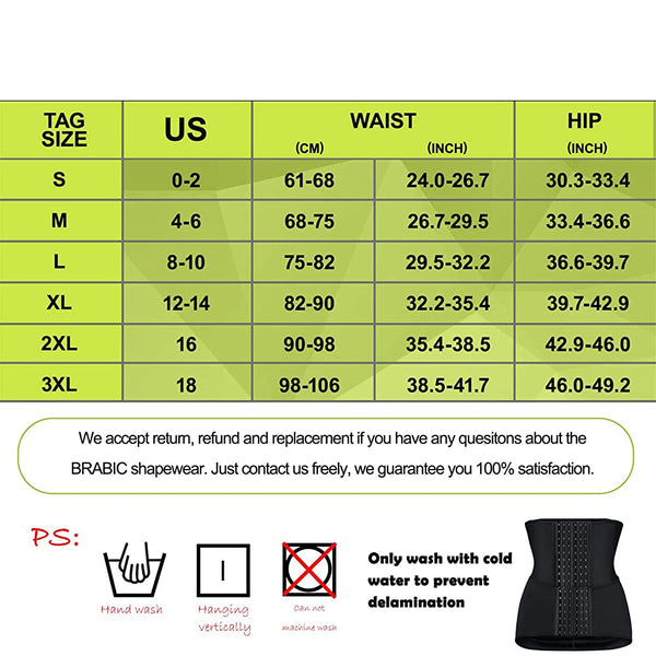LANCS 2 in 1 Belly Wrap Tummy Control Shapewear Postpartum