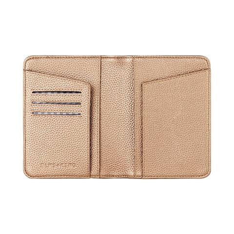 NEW YORK PASSPORT HOLDER COPPER