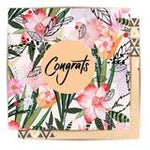 GREETING CARD CONGRATS