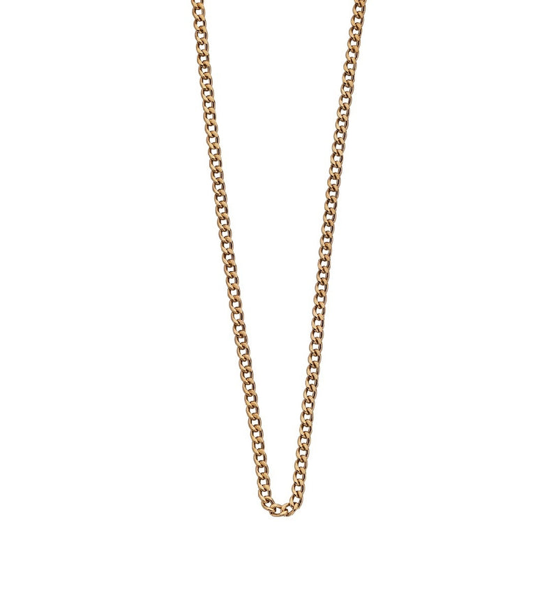 "NECKLACE CHAIN 16"" TO 18"" 18K GOLD VERMEIL"