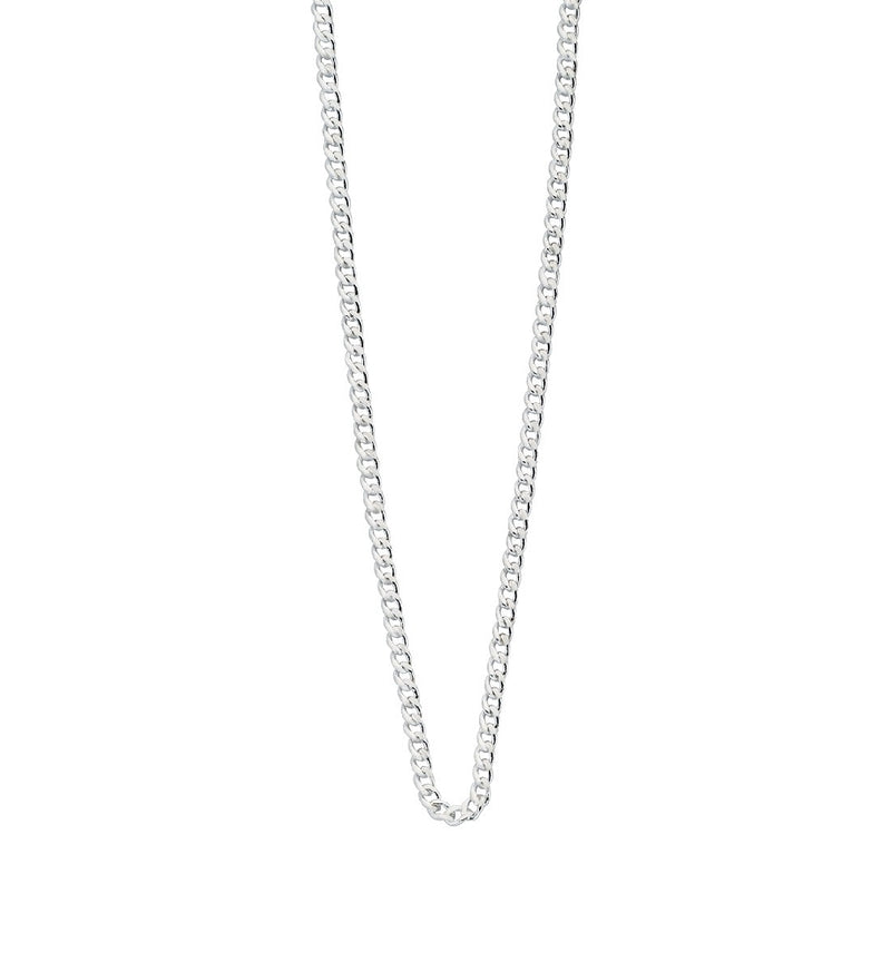 "LONG NECKLACE CHAIN 22"" TO 25"" STERLING SILVER"