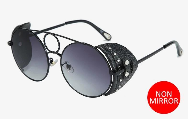 New Celebrity Round Side Shield Premium sunglasses For Men And Women -SunglassesTrendz