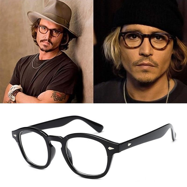 New Classic Fashion Vintage  Johnny Depp Frames Men Women - SunglassesTrendz
