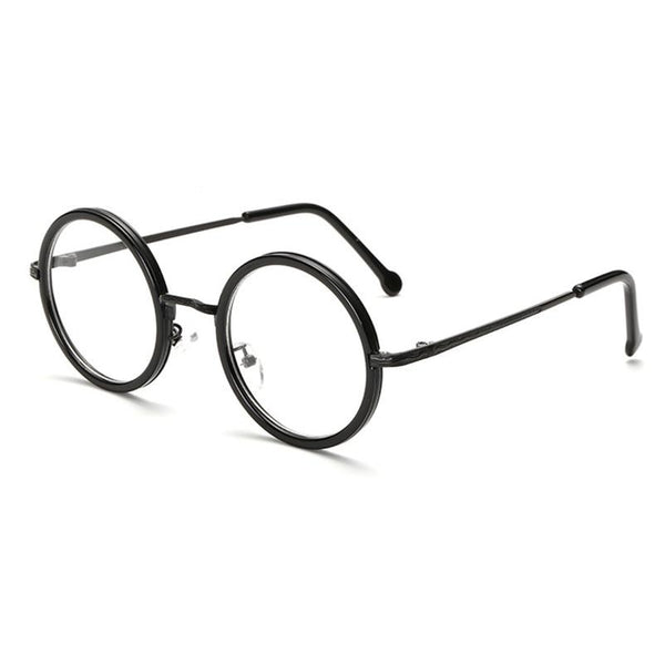 New Fashionable Round Reading Glasses Women Men Eyeglasses - BRANDEDBABA