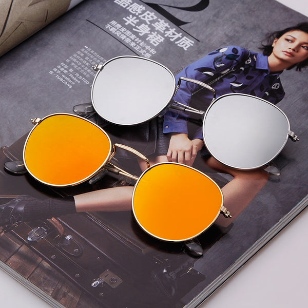 New Celebrity Edition Round Sunglasses For Men And Women-SunglassesTrendz