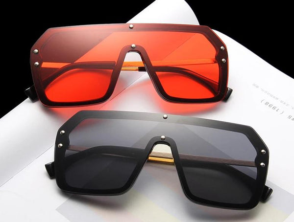 New Celebrity Oversized Square Sunglasses For Men And Women -SunglassesTrendz