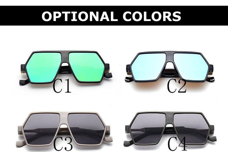 New Stylish Vintage Mirror Sunglasses For Men And Women-SunglassesTrendz