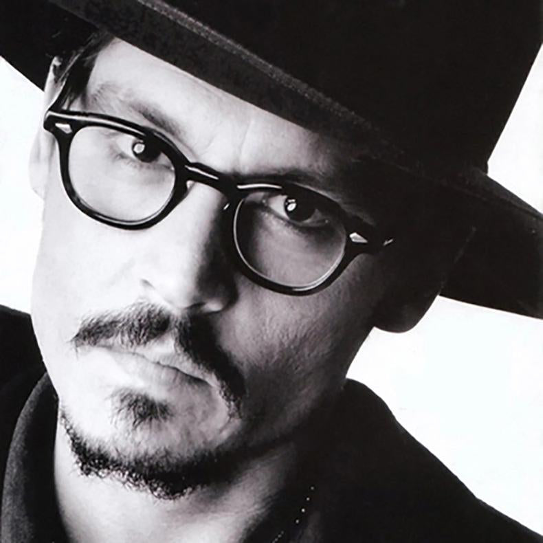 Trending Johnny Depp Style Glasses Men Women Vintage Optical Myopia Frames Eyeglasses - SunglassesTrendz