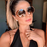 Stylish Vintage Round Sunglasses For Women-SunglassesTrendz