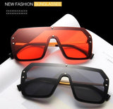 Funky Celebrity Oversized Square Sunglasses-SunglassesTrendz
