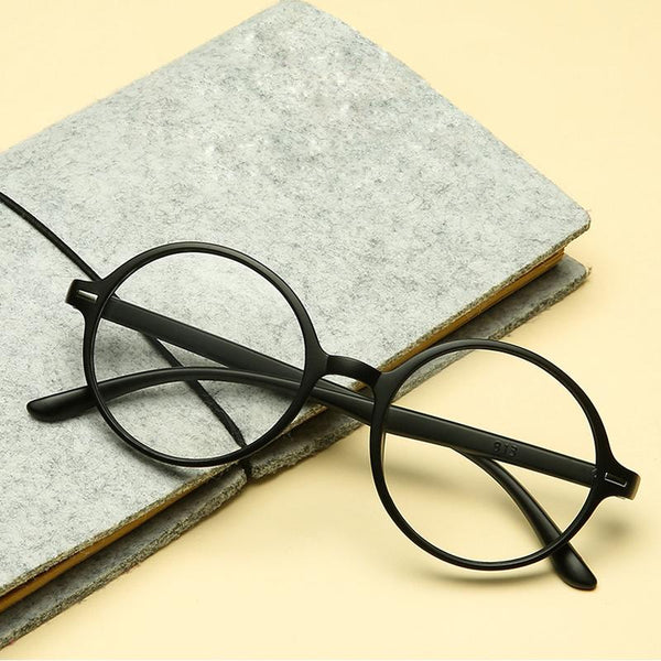 New Fashionable Round Reading Glasses Women Men Eyeglasses - SunglassesTrendz