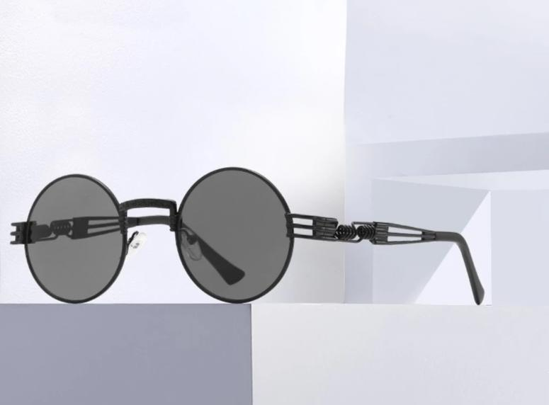 New Stylish Vintage Round Sunglasses For Men And Women-SunglassesTrendz