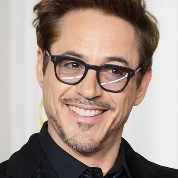 New Fashion Tony Stark Sunglasses Robert Downey Iron Man Glasses Men Women Eyewear - SunglassesTrendz