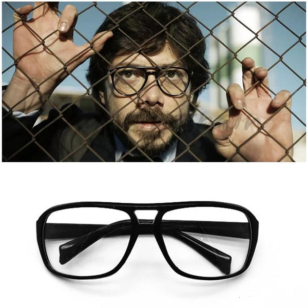 La Casa De Papel El Profesor Glasses Money Heist Cosplay Props Eyewear Salvador Dali Halloween Season 3