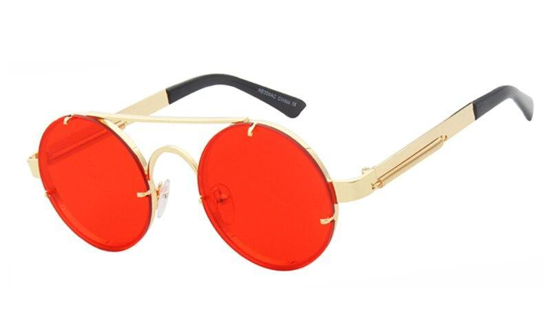 Stylish Vintage Retro Round Sunglasses For Men And Women-SunglassesTrendz