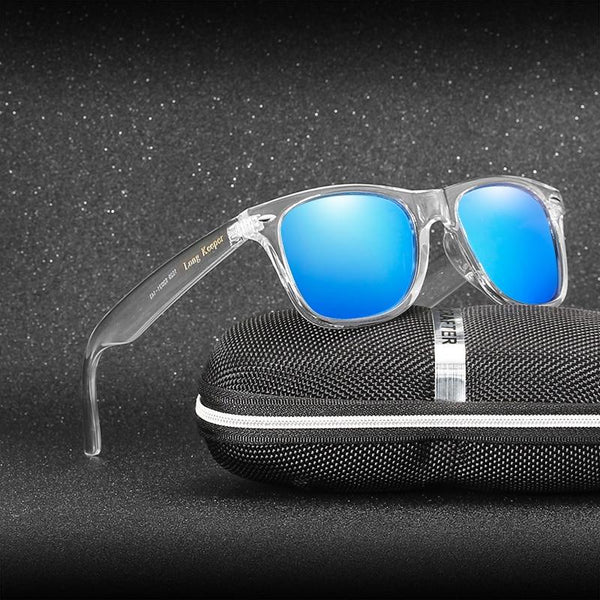 New Stylish Wayfarer Reflective Mirror Sunglasses For Men And Women-SunglassesTrendz