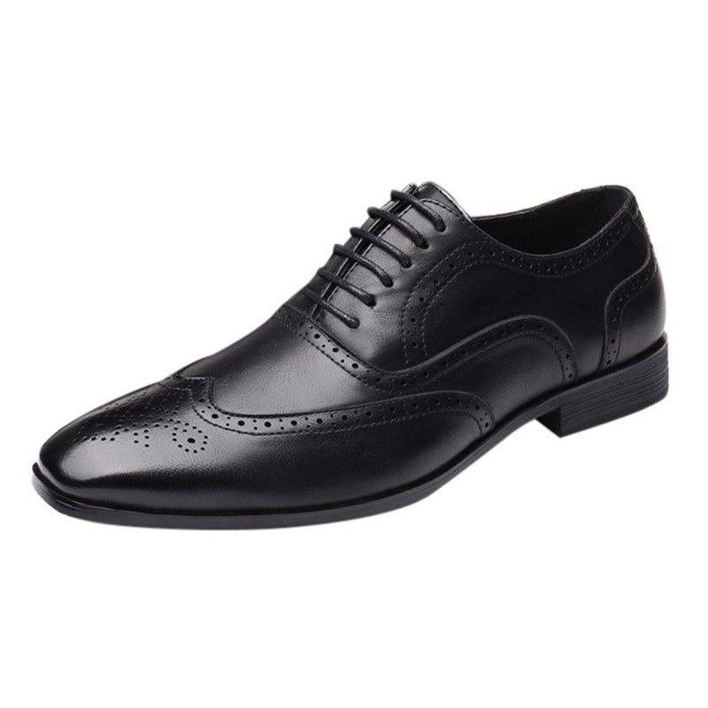 Classic Business Formal Shoes Pointed Toe leather For Men-SunglassesTrendz