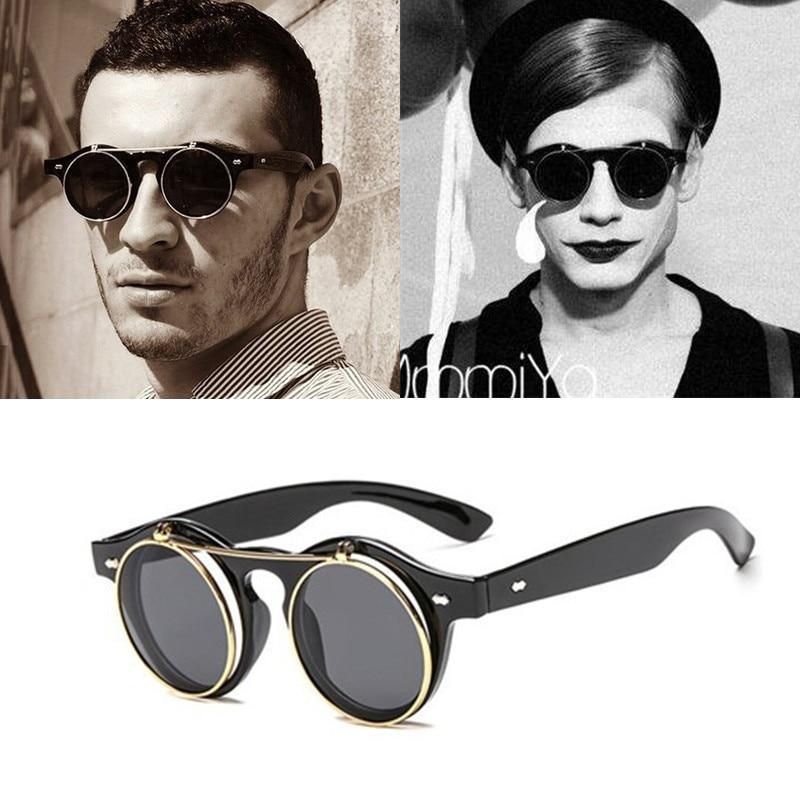 Stylish Round Vintage Sunglasses For Men And Women-SunglassesTrendz