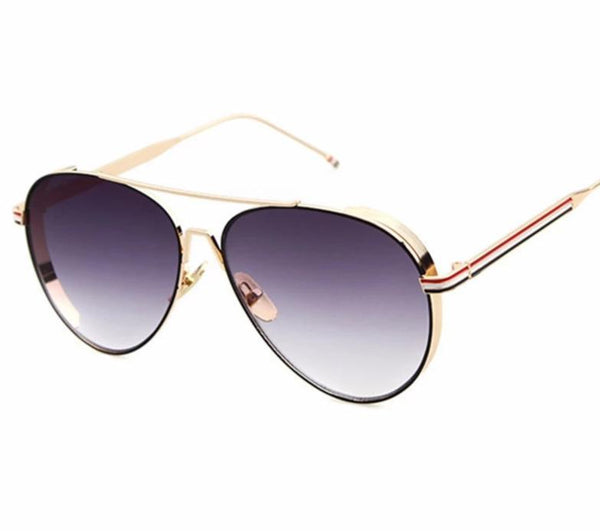 Stylish Aviator Metal Sunglasses For Women-SunglassesTrendz