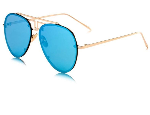 New Stylish Rim Less Pilot Sunglasses For Men And Women -SunglassesTrendz