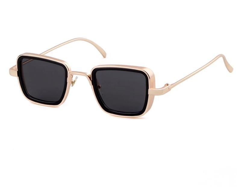 kabir Singh Square Vintage Sunglasses For Men-SunglassesTrendz