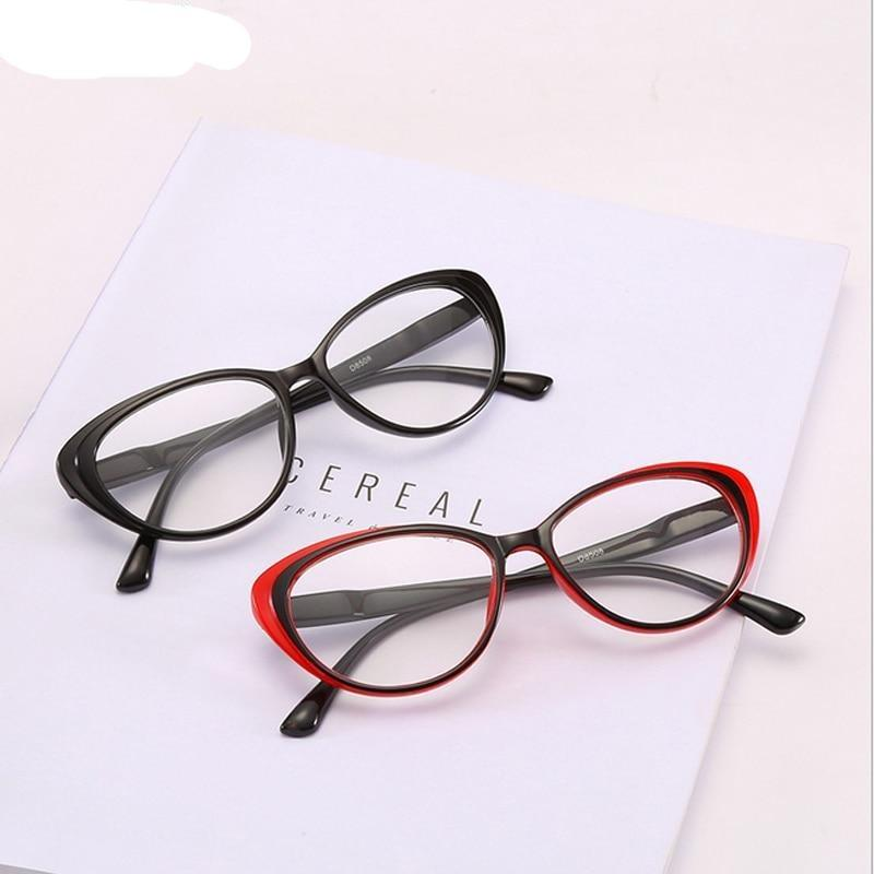 Classical Cat Eyes Reading Glasses Clear Lens Spectacles Eyewear - SunglassesTrendz