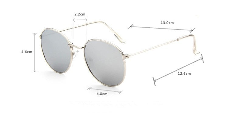 New Classic Edition Round Sunglasses For Men And Women -SunglassesTrendz