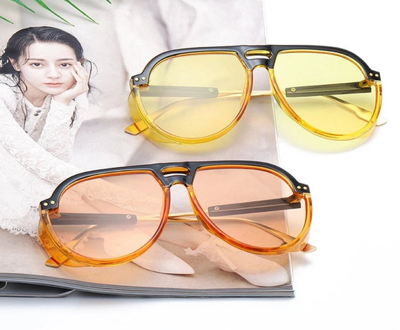Classic Transparent Sunglasses For Women-SunglassesTrendz