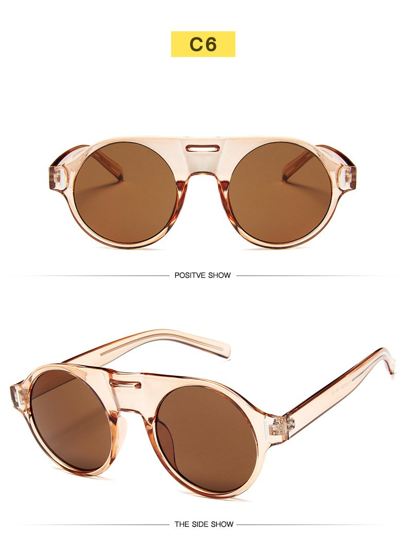 New Luxury Round Candy Sunglasses For Women-SunglassesTrendz