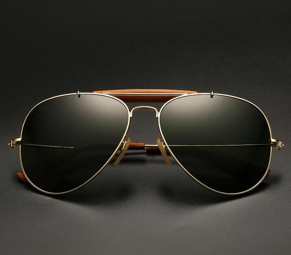 Classic Bridge Mirror Aviator Sunglasses For Men And Women-SunglassesTrendz