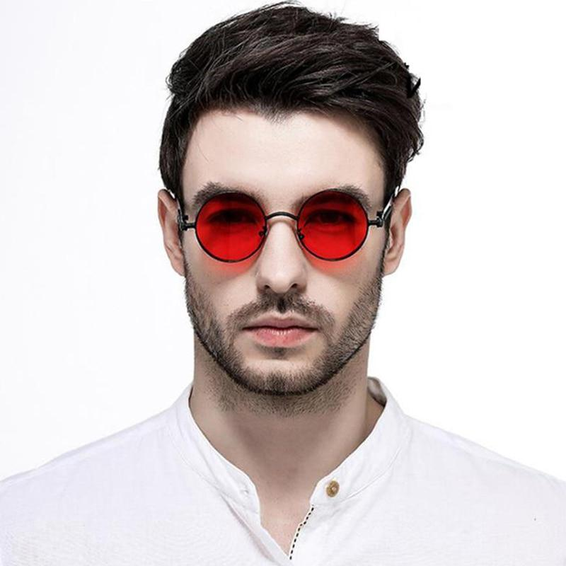 New Stylish Round Metal Frame Sunglasses For Men And Women -SunglassesTrendz