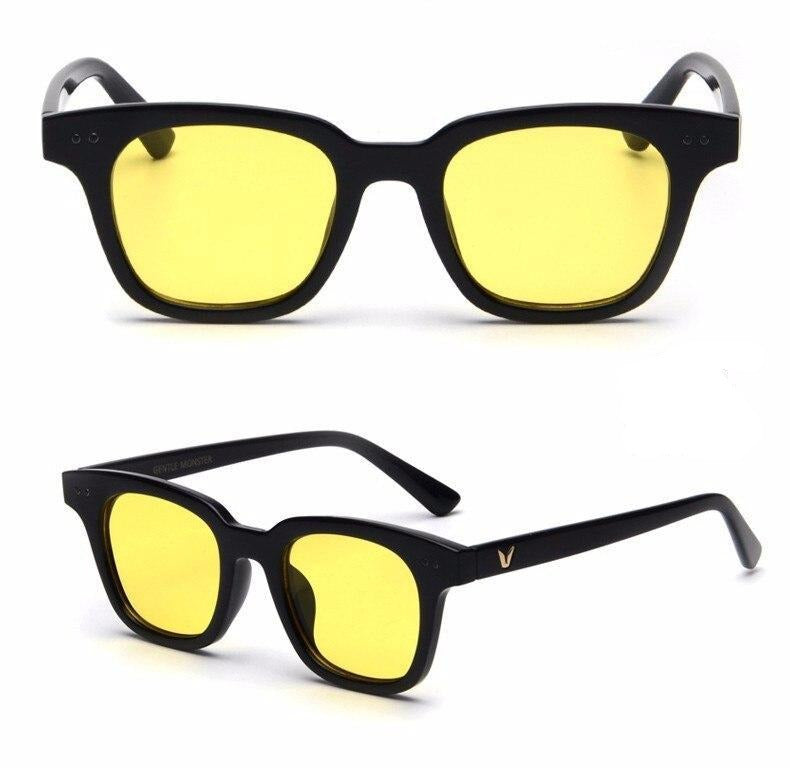 Trendy Square Transparent Sunglasses For Men And Women-SunglassesTrendz
