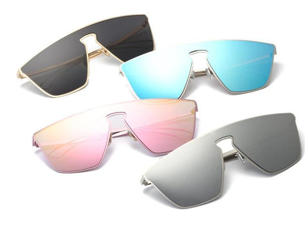 Rim Less Summer Sunglasses For Women-SunglassesTrendz