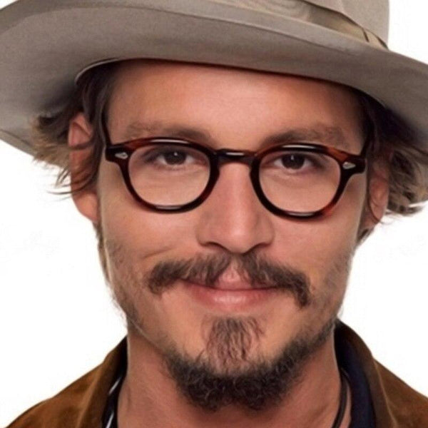 Johnny Depp Style Glasses Men Retro Vintage Prescription Glasses Women Optical Spectacle Frame