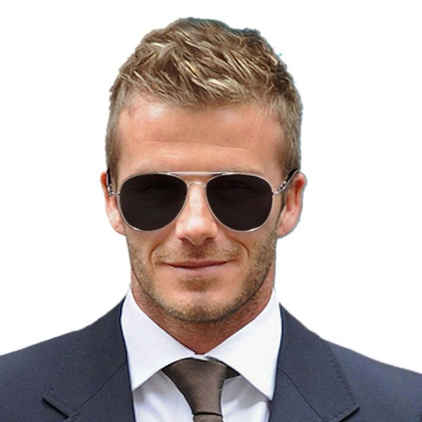 New Celebrity Stylish Metal Vintage Aviator Sunglasses For Men -SunglassesTrendz