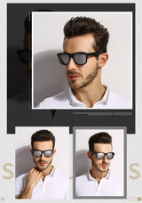 Stylish Retro Wayfarer Sunglasses For Men And Women -SunglassesTrendz