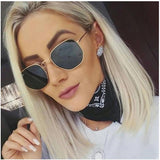 Hexagon Sunglasses For Men And Women-SunglassesTrendz