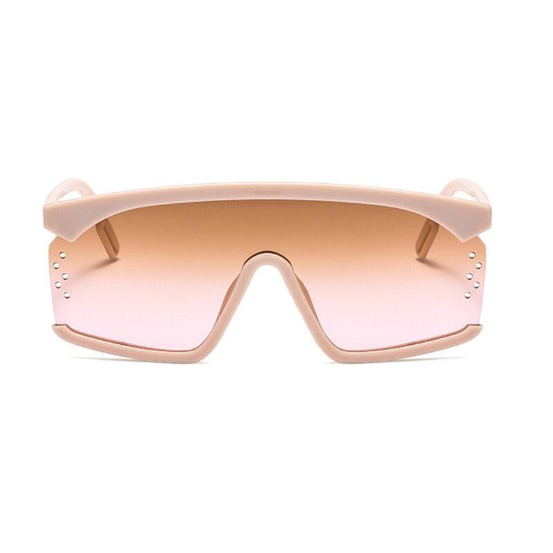 Stylish Square Oversize Candy Color Sunglasses For Men And Women-SunglassesTrendz