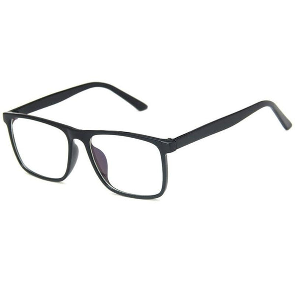 Retro Square glasses Frames Optical Clear Eye Glass Frame Men And Women - SunglassesTrendz
