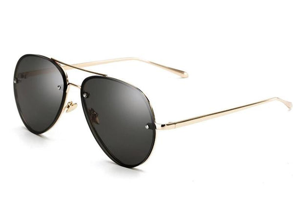 New Stylish Rim Less Mirror Aviator Sunglasses For Men And Women-SunglassesTrendz