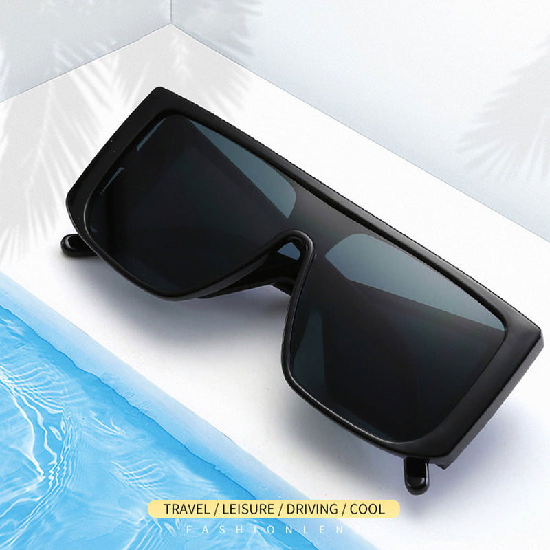 Celebrity Oversize Square Sunglasses For Men And Women -SunglassesTrendz